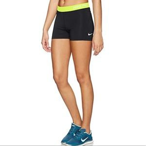 "Nike 3"" Cool Compression Spandex Shorts"
